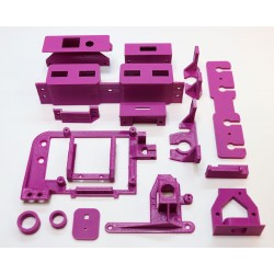 Purple 3D Parts suitable for PS1 Modell SCPH-5552 [V1.1]